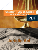 Juristic Act and Contract