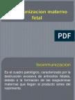 Isoinmunizacion Materno Fetal (2)