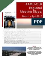 spring 2012 regional meeting digest national