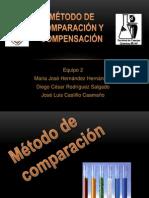 MÉTODO DE COMPARACIÓN Y COMPENSACIÓN