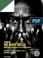 Miles Davis Anglais
