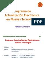 Automatización Industrial – Sensores y Actuadores