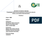 Informe 2 Laboraorio de Quimica