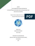 skripsi kualitas dokumentasi asuhan keperawatan