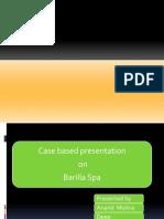 barilla spa case inventory retail barilla