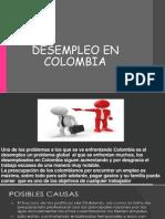 Desempleo en Colombia Diapos