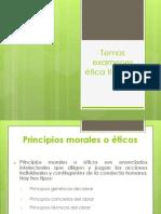 Temas Para Examen II Parcial Etica