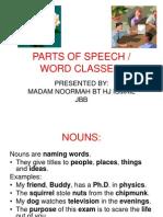1_parts of Speech - Sem 1 Waj3102