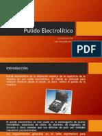 Pulido Electrolítico