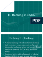 42907466 E Banking in India