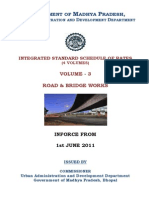 SOR Volume 3 Road (Required for estimation and costing)