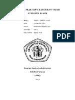 laporan tanah struktur