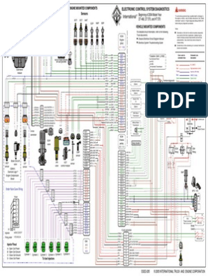 Diagrama Dt466e Egr | Fuel Injection | Switch on