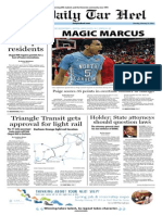 The Daily Tar Heel for Feb. 27, 2014