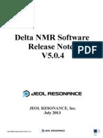 Delta Release Notes v504 E[1]