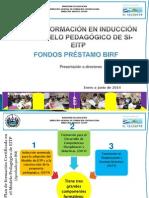 PLAN DE FORMACIÓN INDUCCIÓN, 2014 BANCO MUNDIAL,DIRECTORES