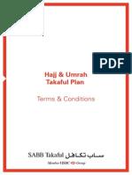 Hajj and Umrah Plan Tc en by HSBC