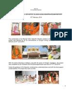 Sri Bharati Tirtha Vidyarthi Vilasaha Inauguration 10th Feb 2014