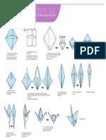 Origami Crane Print (2)