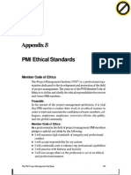 PMI Ethical Standards