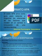 APA_uso Formato Informes