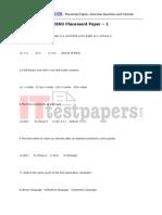 Isro Pt Paper