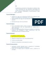4. Funciones de La Cuenca