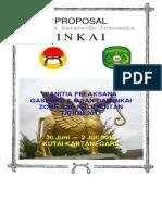 Proposal Gashuku Dan Ujian Dan Inkai Zone II Kalimantan Kukar