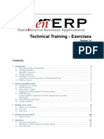 Openerp Technical Training v7 Exercises