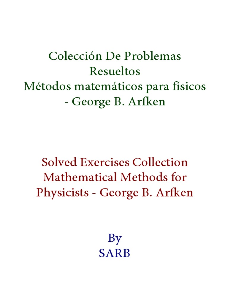 g Arken Solutions-problemas Resueltos | Series (Mathematics