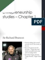 Entrepreneurship Chapter 1