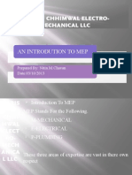 MEP Company PPT file