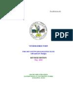 Vendor Book 2011