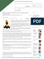 Desarrollo Organizacional_ Las 8 Nuevas Competencias Para Nuevos Tiempos