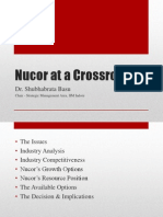 Nucor at a Crossroads