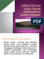 Etik Legal Kep Emergency