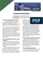 FR Marriage 2006-01pr Sandwich Generation