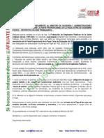 Nota Informativa Carta Ministro Paga Extra 25-02-2014