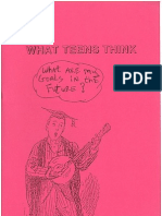 OES What Teens Think ('90 Waterways Site Based Magazine)