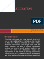 Admixture Stabilization 1