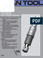 Sentinel Series Micro-matic Stub Driver With Torque Control