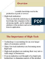 6. Strategy of Technology Changes