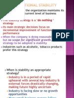 12. Corporate Strategies- S, T, ETC..