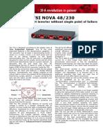 TSI Nova 48 230 Data Sheet V10