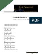 Canzone Di Notte n. 1