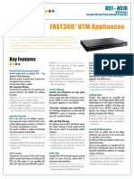 Arkoon FAST 360 A51 ManufacturersBrochure