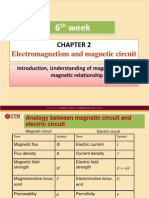 Week06 Chapter 2 Electromagnetism and Magnetic Circuit