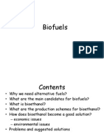First Generation Biofuels