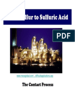 Sulfuric Acid manufacturing