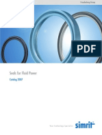 Simrit - Seals for Fluid Power (Pneumatics - Catalog 2007)